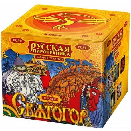 "РС841 Батарея салютов Святогор (1,2""х 49)"