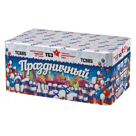"ТС685 Батарея салютов Праздничный (0,8""х127)  МОДУЛЬ"