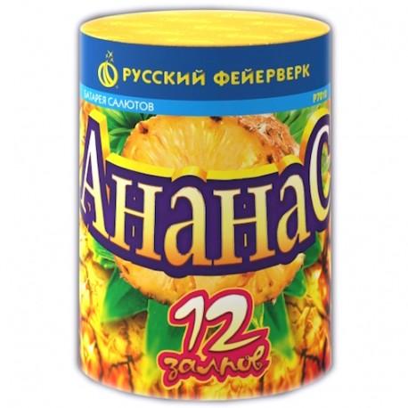 "Р7010 Батарея салютов Ананас (0,6"" х 12)"