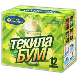 "Р7200 Батарея салютов Текила-бум (0,8"" х 12)"