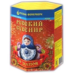 "Р7220 Батарея салютов Русский сувенир (0,8"" х 19) МОНОБЛОК"