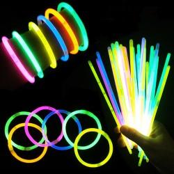 Светящиеся браслеты (100 шт) Glow Stick SZT5200