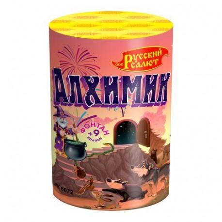 """РК6072 Фонтан-салют Алхимик (0,8""""х10)"""