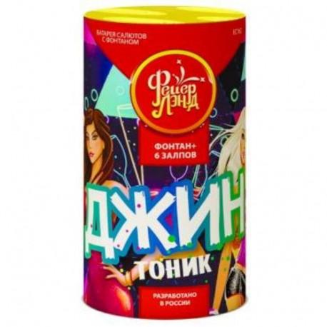 "ЕС162 Фонтан-салют Джин-Тоник (0,8""х6)"