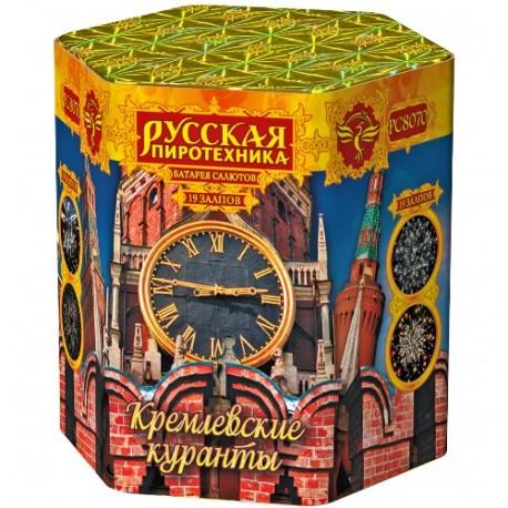 """РС8070 Батарея салютов Кремлёвские куранты (1,2""""х19)"""