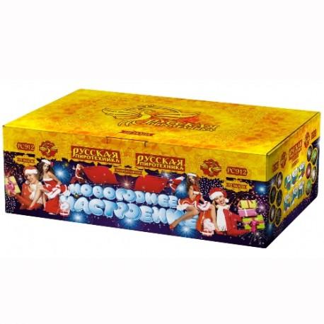 """РС9220 Батарея салютов Новогоднее настроение (0,8"""" 1,0"""" 1,2""""х172)"""