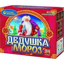 "P7700 Батарея салютов Дедушка Мороз (1,25"" х24)"