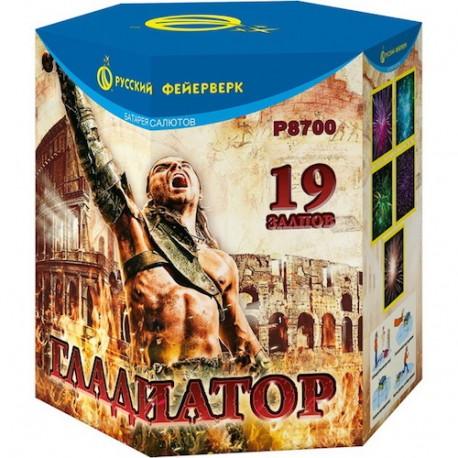 "P8700 Батарея салютов Гладиатор (1,8""x 19)"