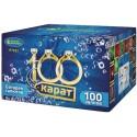 """Р7332 Батарея салютов 100 карат (0,8""""x100)"""
