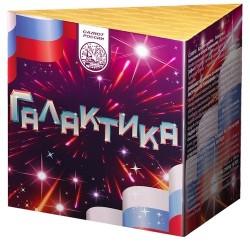 """С250010 Батарея салютов Галактика (1,0""""х10)"""