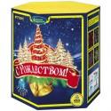 """Р7591 Батарея салютов С Рождеством! (1,25""""x19)"""
