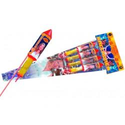 РС241 Ракеты Кассиопея (четыре разных эффекта)