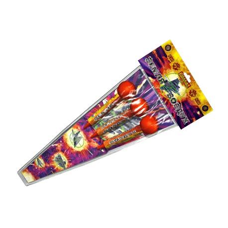 РС245 Ракеты Земля - воздух (со складным стабили-затором, три разных эффекта)