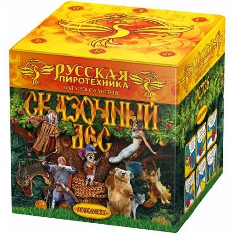 "РС726 Батарея салютов Сказочный лес   (1,0""х 36) МОДУЛЬ"